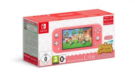Slika NINTENDO Switch LITE Animal Crossing edition
