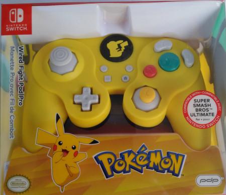 Slika Nintendo Switch wired smash pad pro pikachu