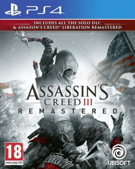 Slika PS4 Assassin's Creed 3 & Liberation HD Remastered