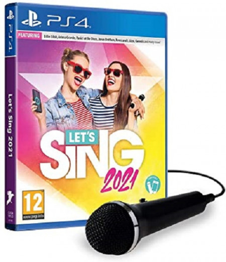 Slika PS4 Let's Sing 2021 + 1 Mic
