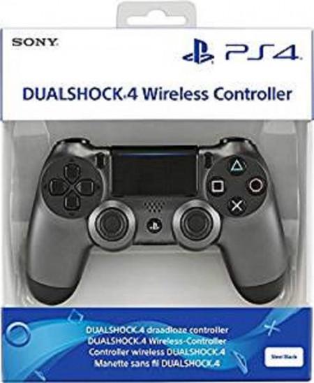 Slika Dualshock 4 V2 Steel Black SonyPlastation PS4