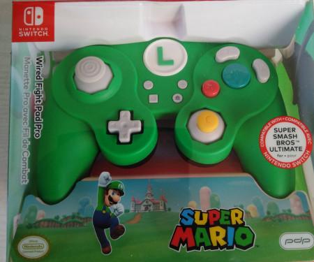Slika Nintendo Switch Wired Smash Pad Pro Super Mario - Luigi