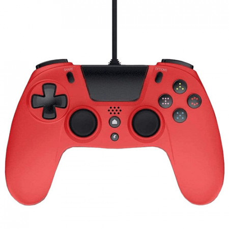 Slika PS4 Wired Controller VX4 Red Gioteck