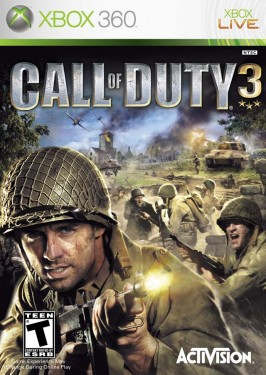 Slika Call of Duty 3 XBOX 360