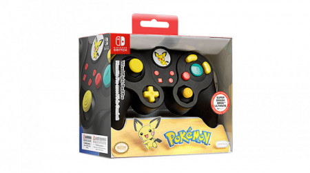 Slika Nintendo Switch Wired Fight Pad Pro Pikachu Black