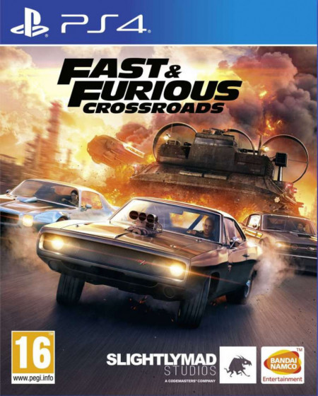 Slika PS4 Fast & Furios Crossroads Play Station