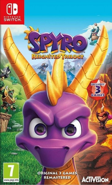 Slika Switch Spyro Reignited Trilogy