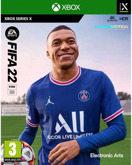 Slika XBOX S/X FIFA 22 na disku