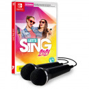 Switch let's Sing 2021 + 2 microphone