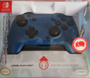 Nintendo Switch faceoff deluxe controller audio camo blue