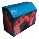 PS4 Wired Controller VX4 Red Gioteck