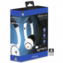 PS4 stereo headset stereo gaming pro4-40 white