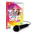 Switch let's Sing 2021 + 1 microphone