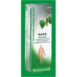 Balsam cu Chaga, salvie, ulei de arbore de ceai si armurariu - 100ml
