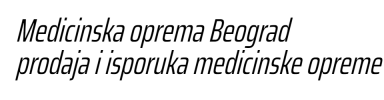 Medicinska oprema Beograd-Prodaja ultrazvucnih sistema