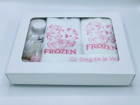 Trusou botez Frozen, roz