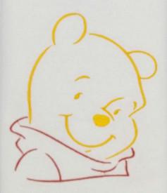 Trusou botez DanyKids cu Winnie brodat, model 3 in cutie