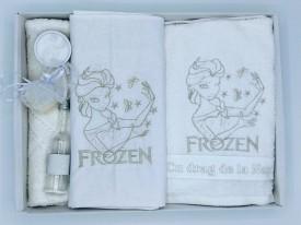 Trusou botez Frozen, argintiu