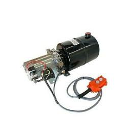 Pompa hidraulica electrica basculare 12v, 3,3 litri/minut rezervor de18- 20 litri