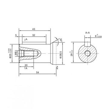Hidromotor/ Motor hidraulic OMP 100 Danfoss