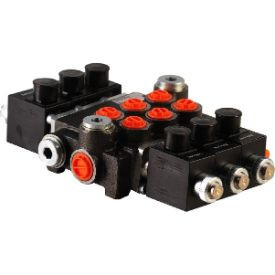 Distribuitor electric cinci sectiuni 24 Vdc 50 litri