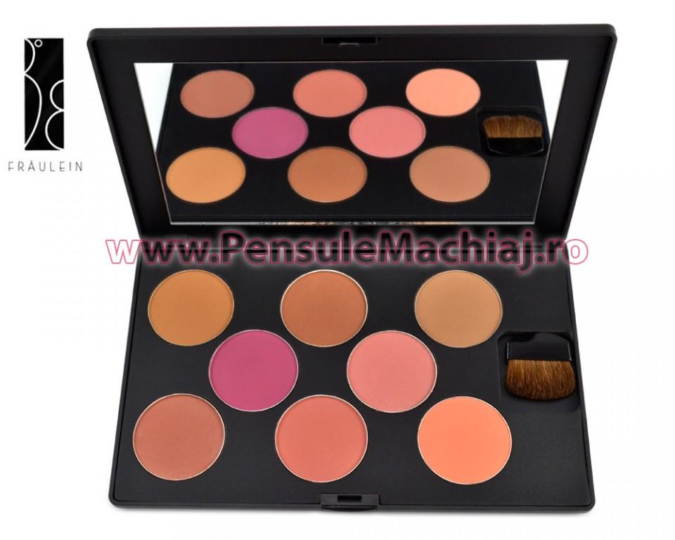 Trusa Contur 8 culori Blush, Pudra & Bronzer Fraulein38 #02 – Rich Glow