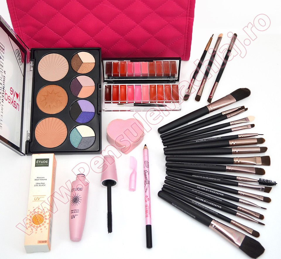 Set Cadou Produse Cosmetice Naked Make-up