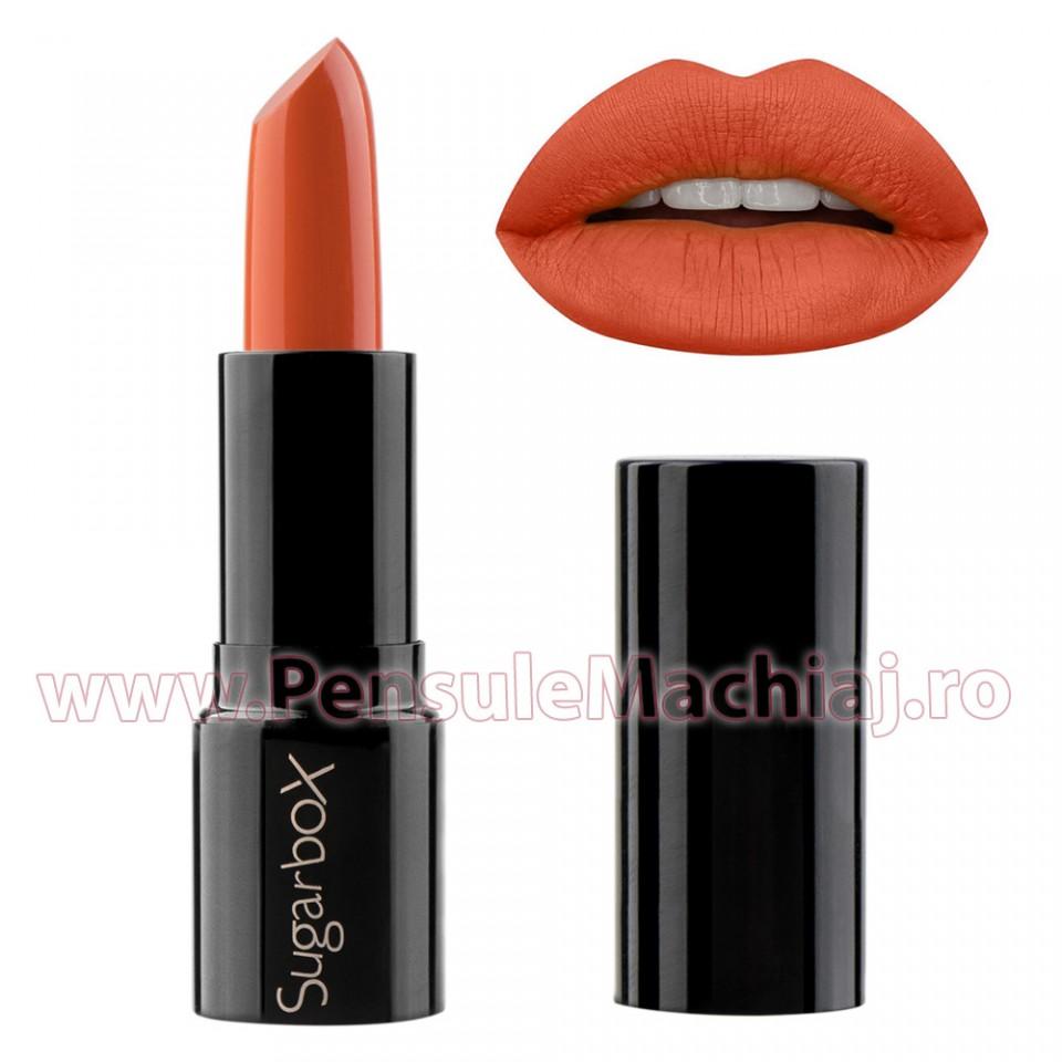 Ruj Hidratant - Sugar Box Sweet Lip Stick - Orange Taste #13