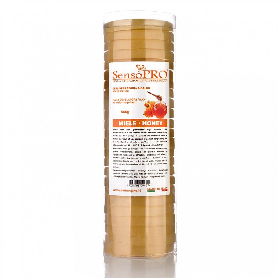 Ceara Epilat Elastica Discuri SensoPRO Italia Honey Touch, 500g