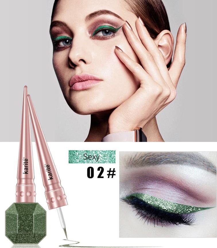 Eyeliner Colorat Karite #02 Imperial Green