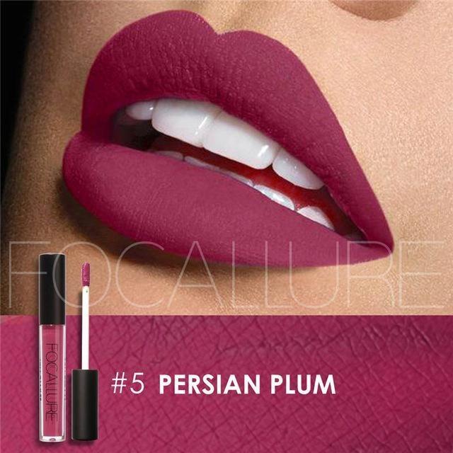 Ruj lichid mat Focallure Persian Plum #05
