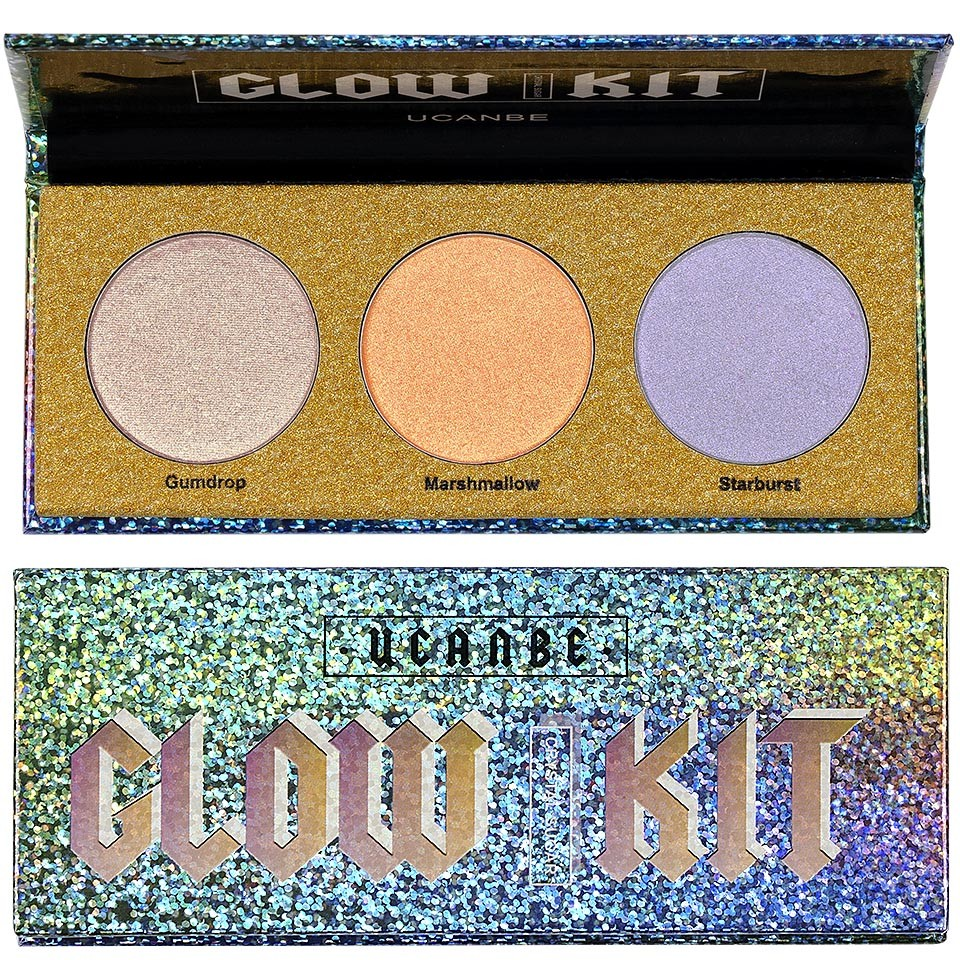 Iluminator Pudra 3 culori Highlighter Stellar Glow imagine produs