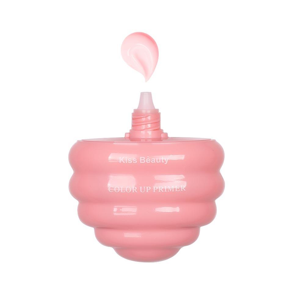 Primer Machiaj Kiss Beauty Ice Cream Pink #01, 40ml pensulemachiaj.ro