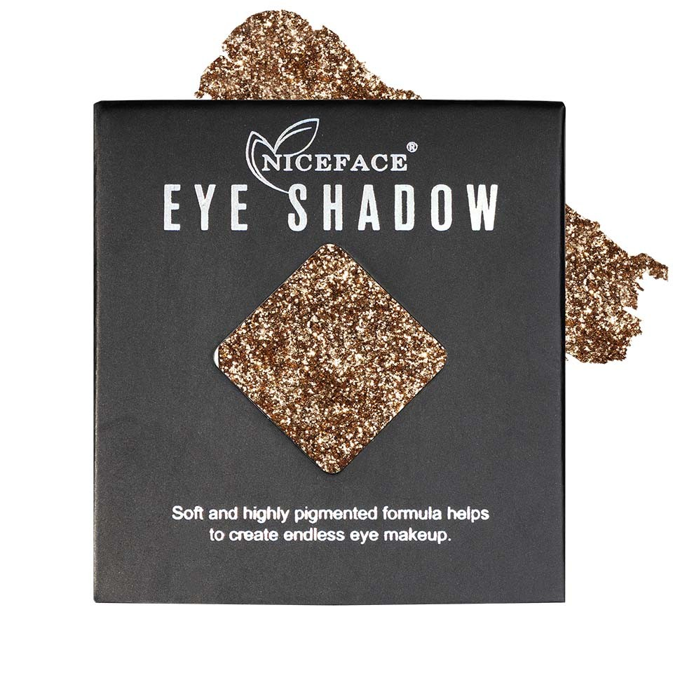 Sclipici ochi pulbere compacta NiceFace Precious Glam #39 poza