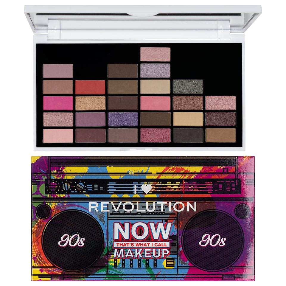 Trusa Farduri Makeup Revolution NOW That's What I Call Makeup 90s Palette imagine