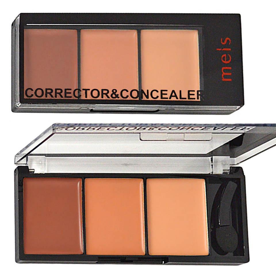 Corector, Anticearcan, Concealer Meis 3 culori 03 - Rose Almond imagine