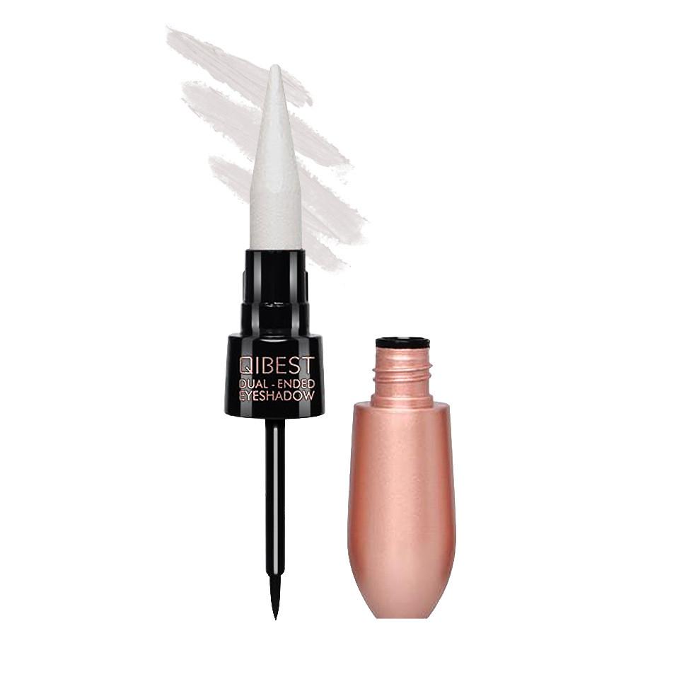Fard Pleoape cremos 2 in 1 cu Eyeliner inclus White Mirage #05 imagine produs