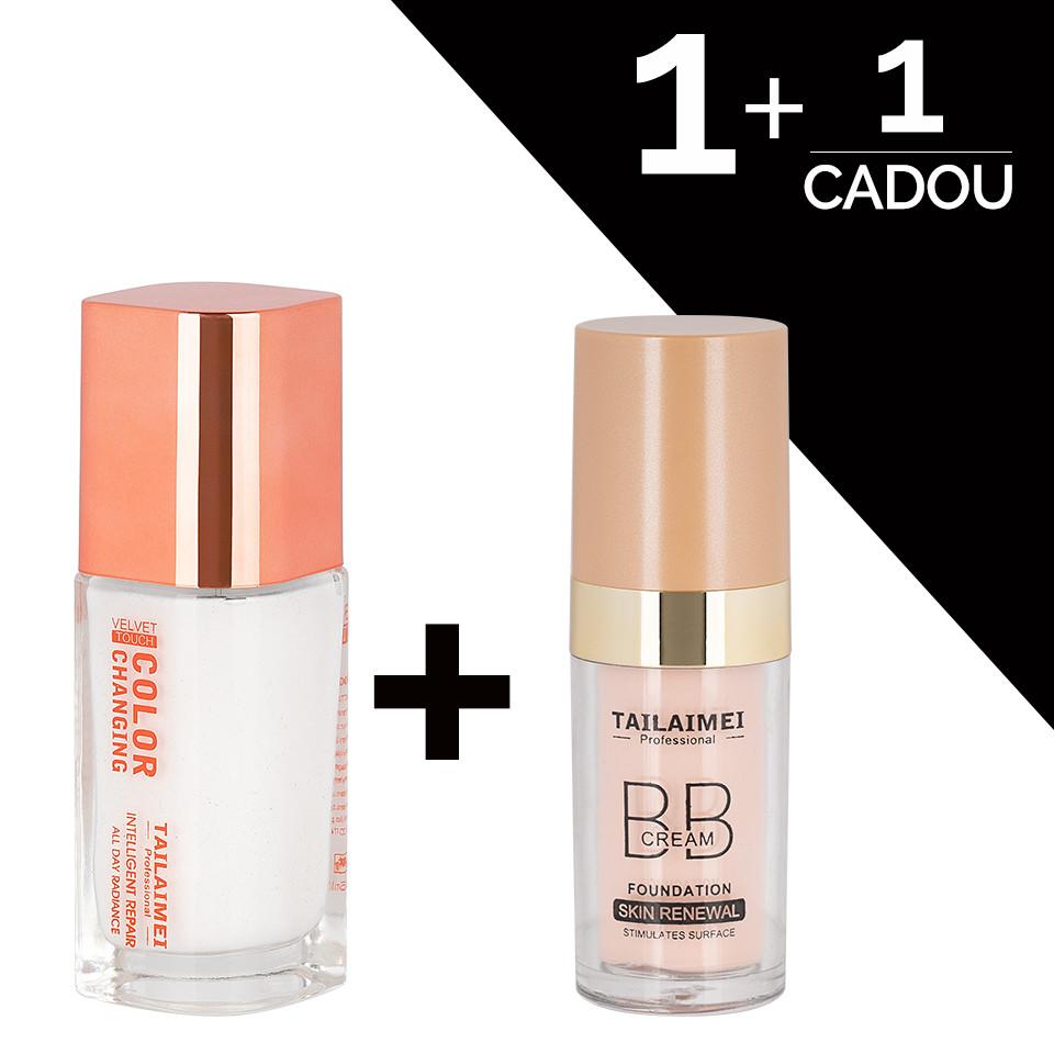 Fond de Ten TLM Velvet Touch + CADOU TLM BB Cream Waterproof imagine