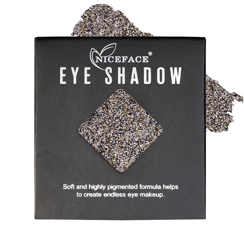 Sclipici ochi pulbere compacta NiceFace Precious Glam #35 poza