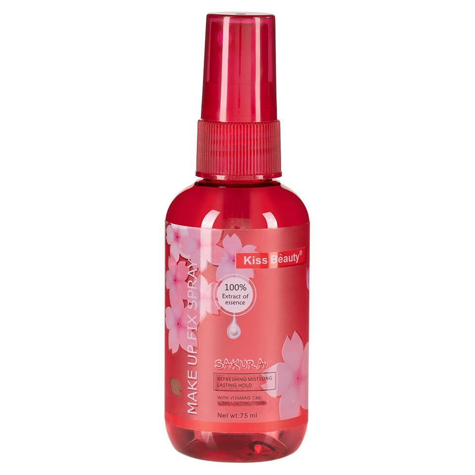 Spray Fixare Machiaj Kiss Beauty Aroma de Cires, 160ml pensulemachiaj.ro