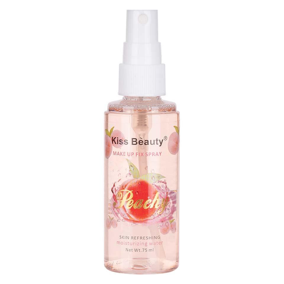 Spray Fixare Machiaj Kiss Beauty Peachy imagine