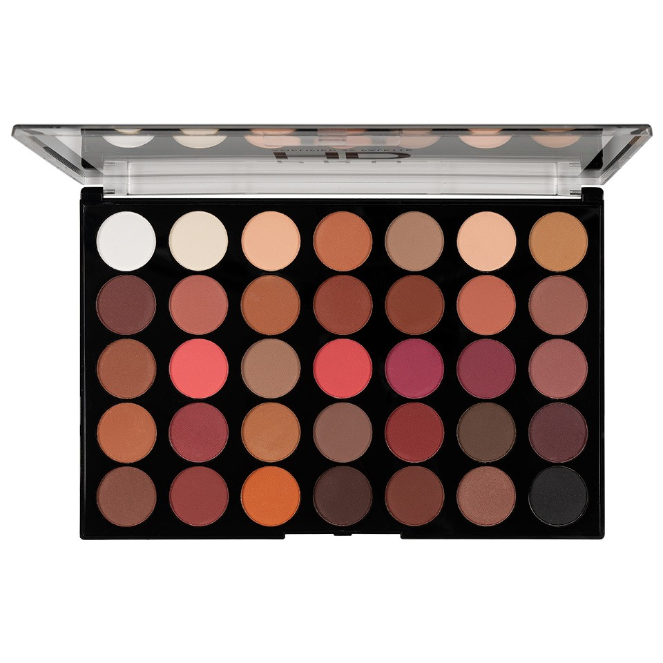 Trusa Farduri MakeUp Revolution HD Palette Amplified 35 - Innovation imagine produs