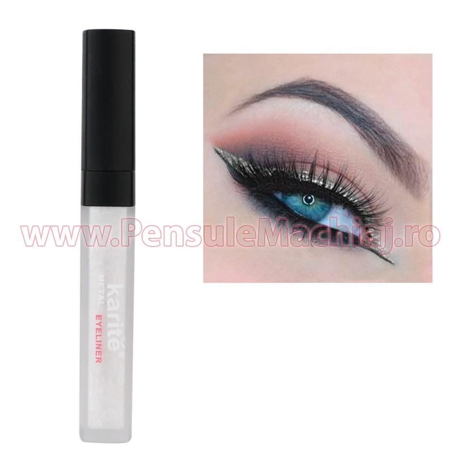 Eyeliner Colorat Rezistent la Transfer Glow White