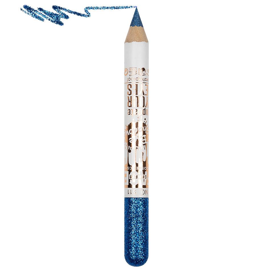 Creion Contur Ochi Colorat cu Sclipici, Waterproof #511 pensulemachiaj.ro