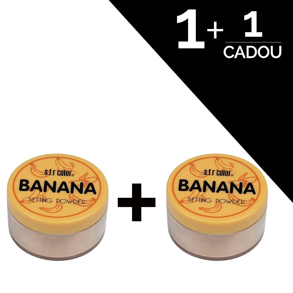 Pudra Pulbere Matifianta S.F.R Color Banana 1+1 Gratuit pensulemachiaj.ro