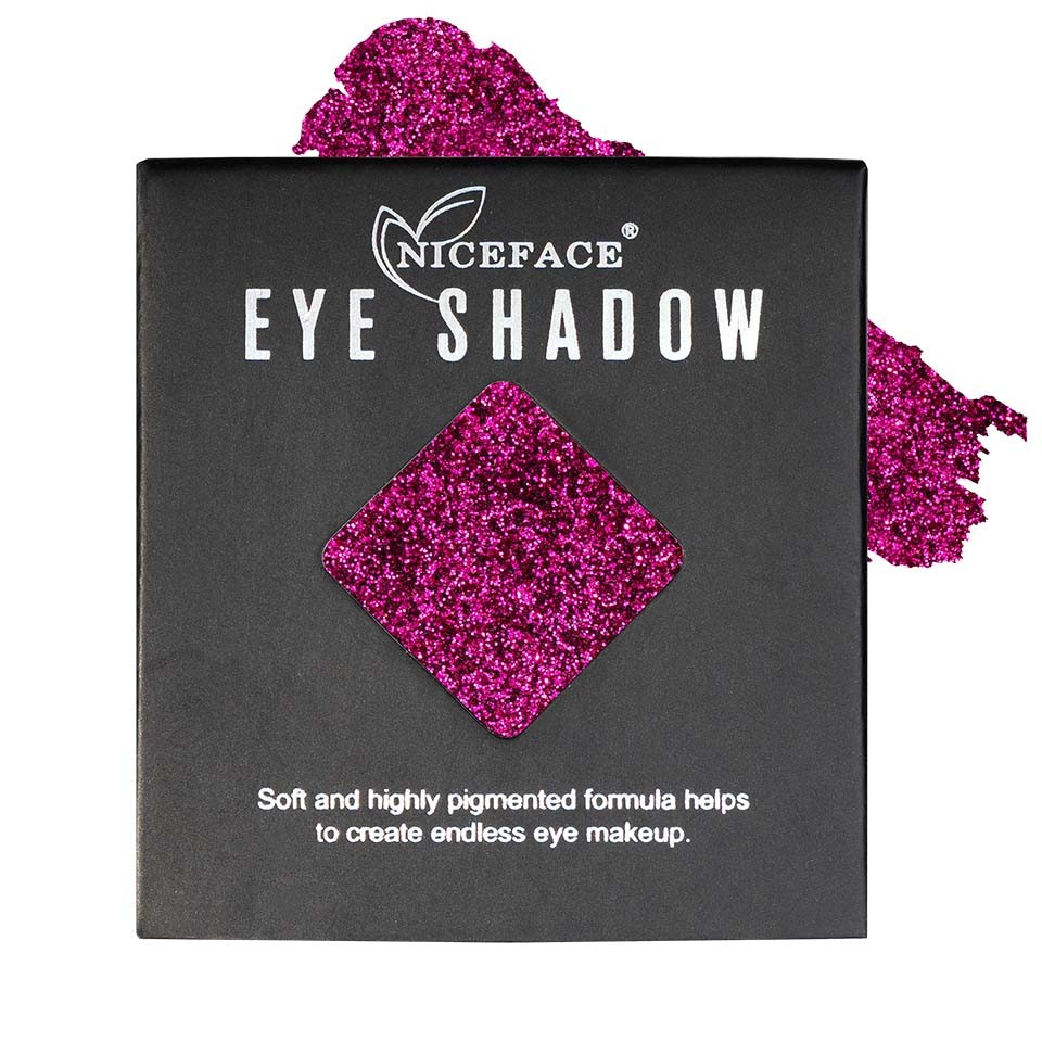 Sclipici ochi pulbere compacta NiceFace Precious Glam #25 poza