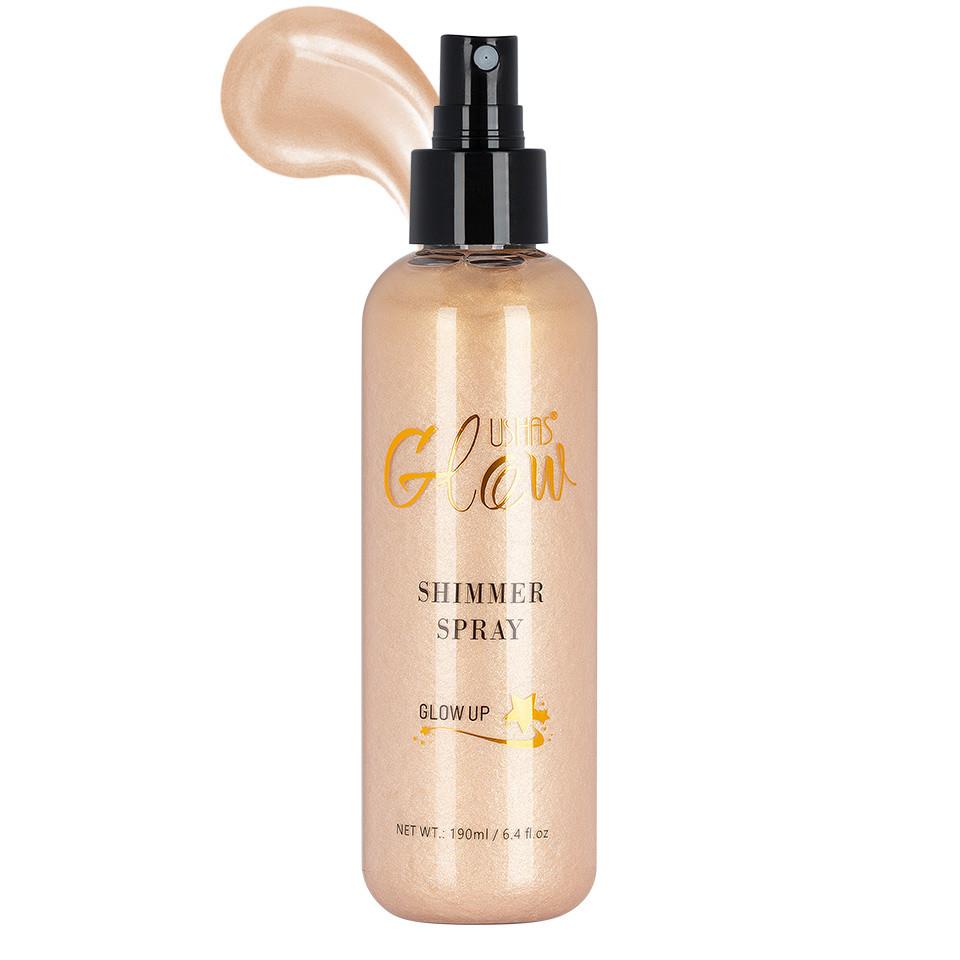 Spray de corp Ushas Glow Shimmer Spray #02, 190ml imagine produs
