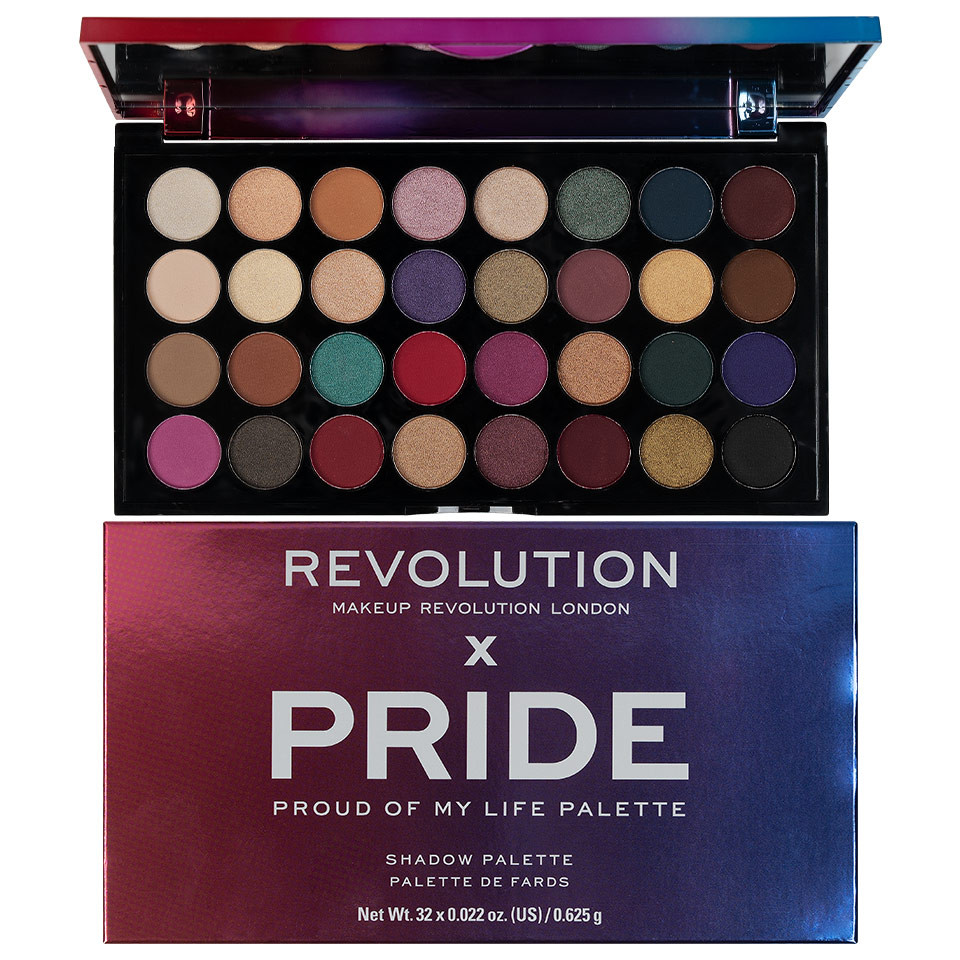Trusa Farduri MakeUp Revolution Pride imagine produs