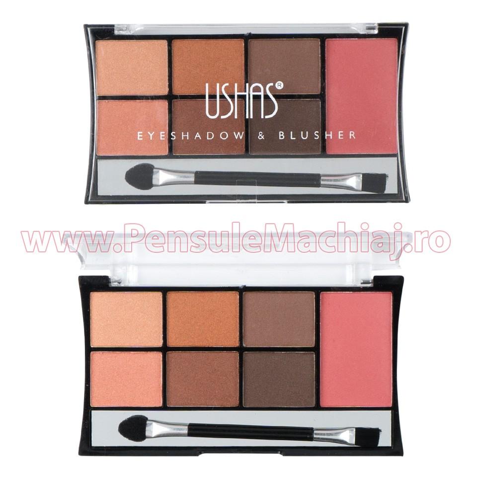 Fard de pleoape 7 culori cu blush Ginger Highlights #03