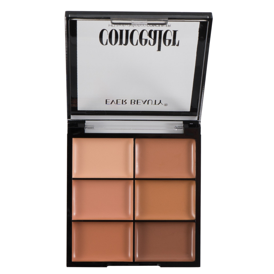 Corector/Concealer, Anticearcan in 6 nuante Glossy Perfect Palette imagine